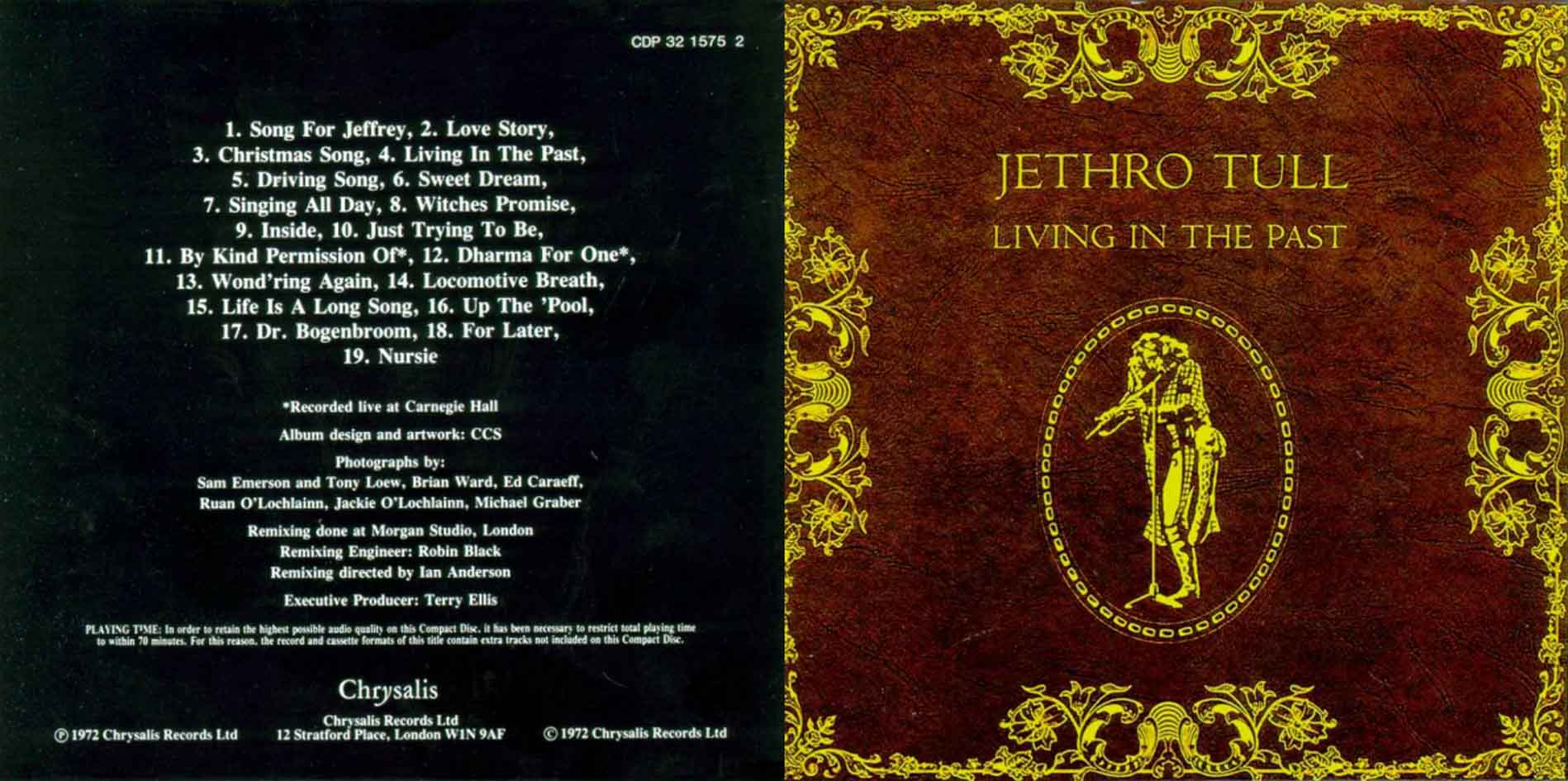 Jethro Tull - Roots To Branches / 20 Years Of J. T.