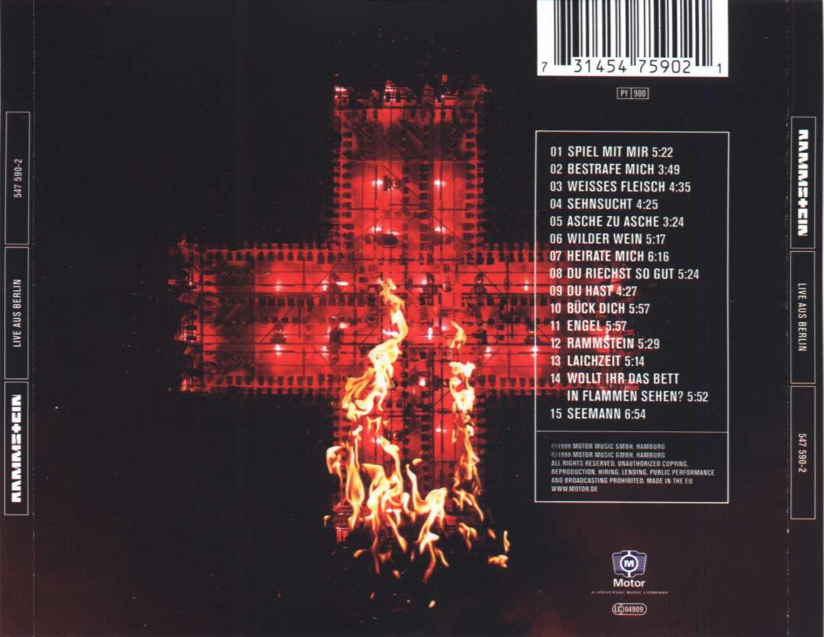 Rammstein Live At Birmingham 2012