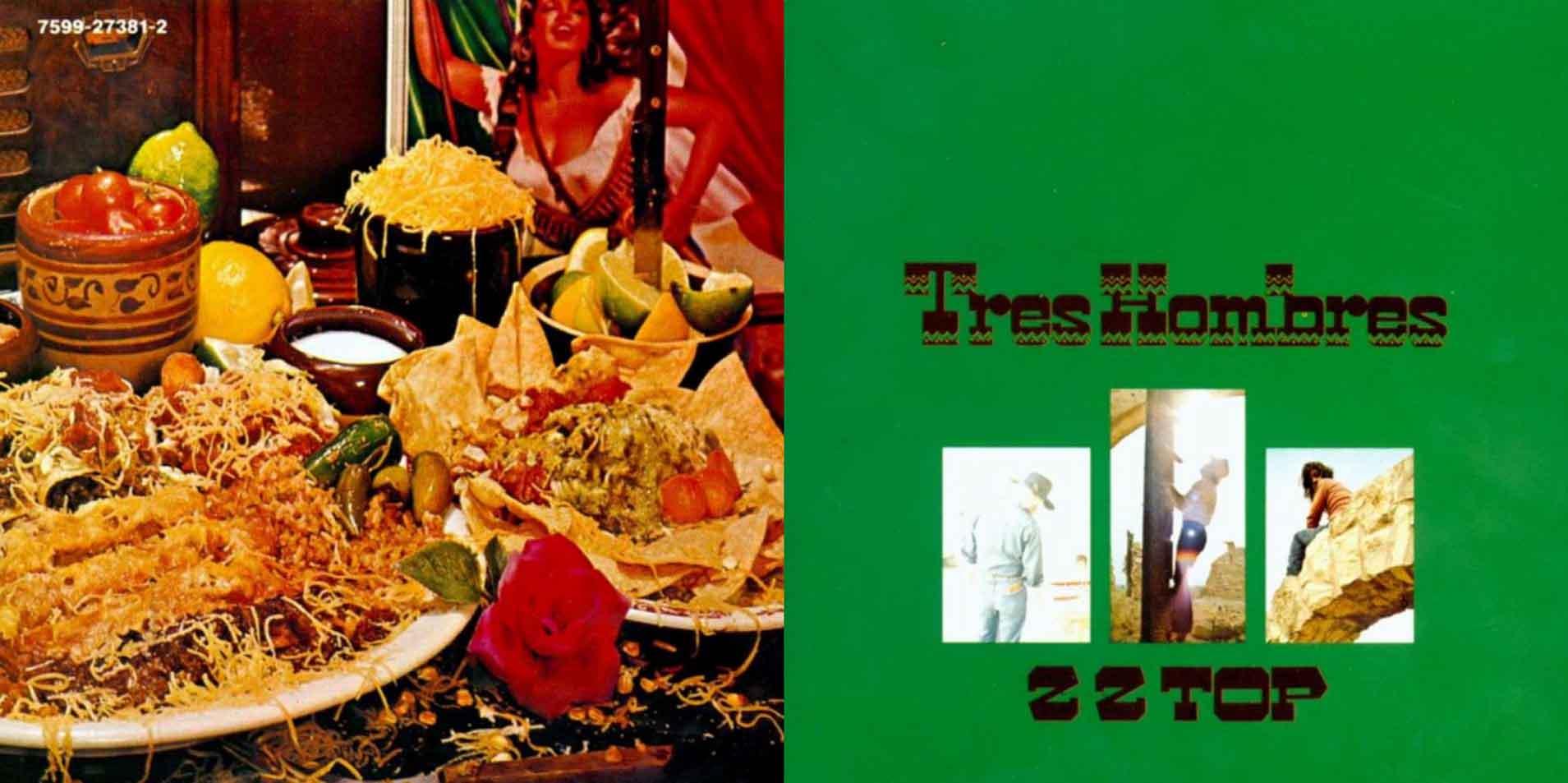 Tres Hombres - 1973 front